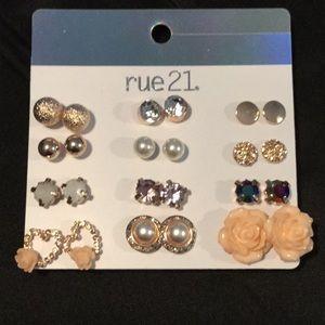 12 Pak of rue 21 Earrings